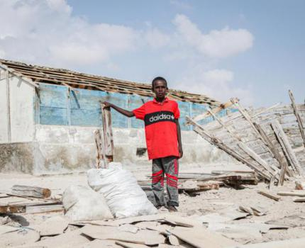 Climate change continues to uproot families: personal reflections from the Baidoa IDP camps, Somalia